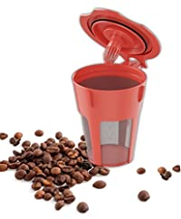 PureJava Reusable Carafe K Cup ~ Carafe Keurig Coffee Filter ~ Refillable, Reusable K Carafe ~ Crafted for K500, K400, K300 and K200 Models - Our Bonus Coffee Recipe eBook Included!!