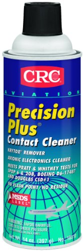 Crc 10310 Crc 10310 Aviation Precision Plus Contact Cleaner, 14 Ounce, Colorless Liquid