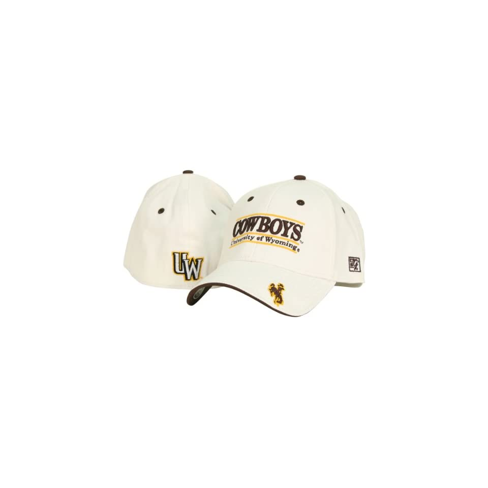 University of Wyoming Cowboys Classic Flex Fit Hat White on PopScreen