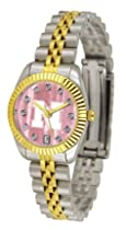 Nebraska Cornhuskers Executive Ladies Watch with Mother of Pearl Dial