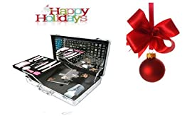 Konad Professional Salon Case#1 + Holiday ITAY 8 Stack Eye Shimmers
