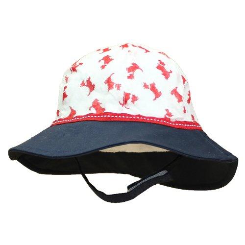 (サングローブ) Sunglobe UVカット 帽子(ベビー用) - ベビー ハット- ソフト ベビー ボンネット カラー:パピー(子犬) 43cm
