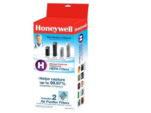 Honeywell True HEPA Air Purifier Replacement Filter 2 Pack, HRF-H2 / Filter (H)