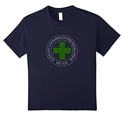 Support Cannabis Entrepreneurship t-shirt 420 weed