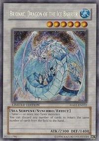 Yu-Gi-Oh! - Brionac, Dragon of the Ice Barrier (HA01-EN022) - Hidden Arsenal - 1st Edition - Secret Rare (Yugioh Ice Dragon compare prices)