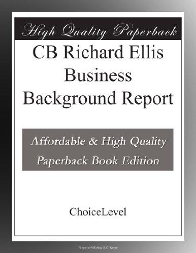 CB Richard Ellis 0001138118/