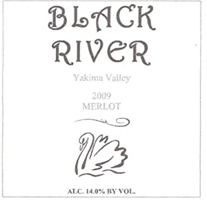 2009 Black River Winery Merlot 750 mL