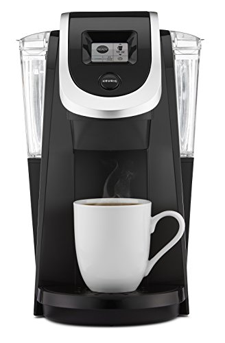 Keurig K250 Single Serve, Programmable K-Cup Pod Coffee Maker with strength control, Black (Single Serve Brewing System compare prices)