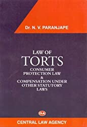 Law of Torts and Consumer Protection law & Compensation under other Statutory Law
