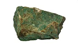 American Educational Crystalline On Matrix Malachite Mineral, 1Kg