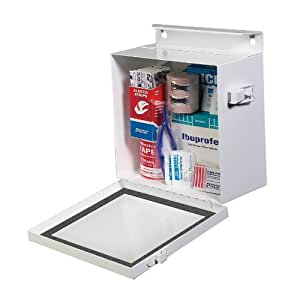 STEELMASTER Multi-Purpose Box, 7.38 x 8.38 x 4.25 Inches, White (201905706)