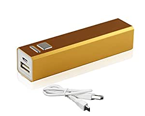 UKOUTLET® PowerBank 2600mAh Portable Power Supply for iPad, iPad 2/3, iPhone 5, iPhone 4, iPhone 4S, iPod, Blackberry, HTC, Android, Samsung and many more - Orange
