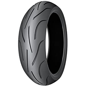 Michelin Pilot Power Motorcycle Tire Hp Track Rear 180 55-17 by Michelin