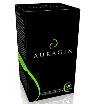 Auragin: Authentic Korean Red Ginseng - Made in Korea - 6 Year Roots, 8% Ginsenosides - No Additives or Other Ingredients - 100% Panax Red Ginseng in Every Tablet