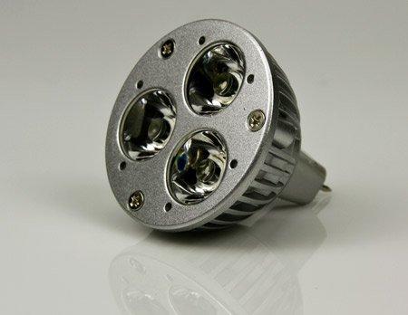 High Power Led Mr16 Bulb 3W 12V Cool White By Cbconcept