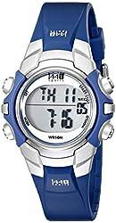 Timex Women's T5J131 1440 Sports Digital Blue Resin Strap Watch