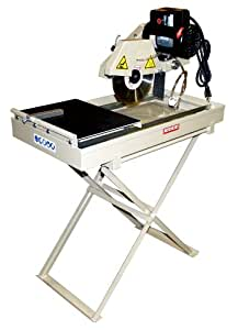 Edco 24100 10 inch electric tile saw 1 horsepower table for 10 inch table saw blades