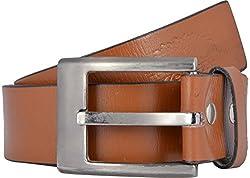 Western Lifestyles Men's Belt (WBL002, Brown, Medium)