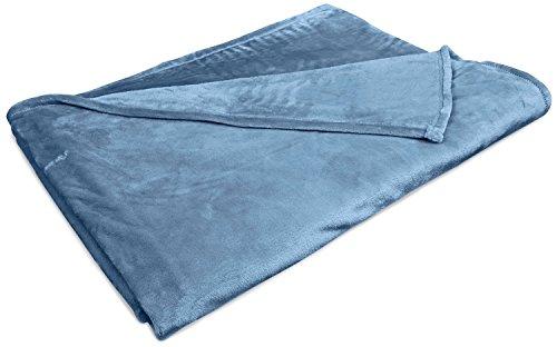 Northpoint Baroque Velvet Plush Blanket, King, Slate front-893571