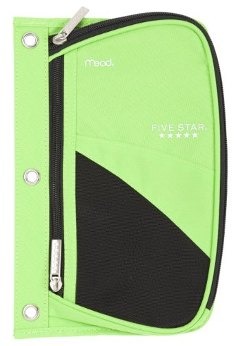 Five star pencil pouch xpanz zipper with mesh window 3 for Five star windows