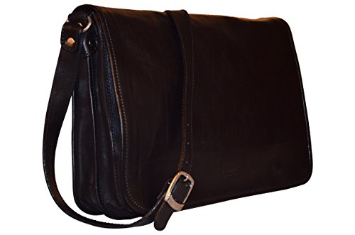 i-medici-firenze-unisex-italienische-echt-leder-schwarz-umhangetasche-messenger-bag-made-in-italy