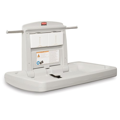 Baby Changing Station Horizontal Platinum 781888Pl Janitorial 781888Pl