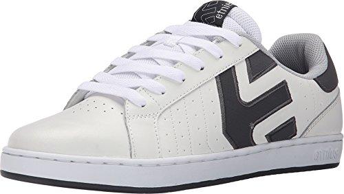 Etnies Men's Fader LS Skateboarding Shoe, White/Grey/Grey, 5 M US