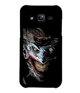 printtech Joker Gotham Art Scary Back Case Cover for Samsung Galaxy J2::Samsung Galaxy J2 J200F