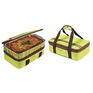 Rachael Ray Expandable Lasagna Lugger, Green