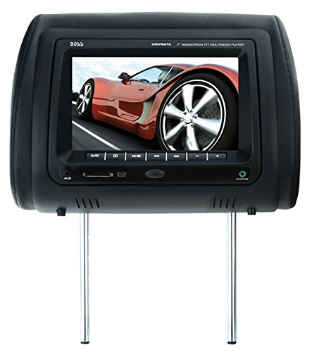 Boss Audio Hir7Bgta Mobile-Video Headrest 7-Inch Screen Monitor Dvd/Cd/Usb/Sd/Mp4/Mp3 Player With Remote