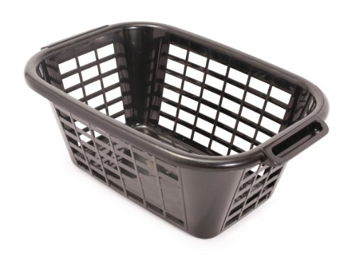 ADDIS 505606 RECTANGULAR LAUNDRY BASKET BLACK