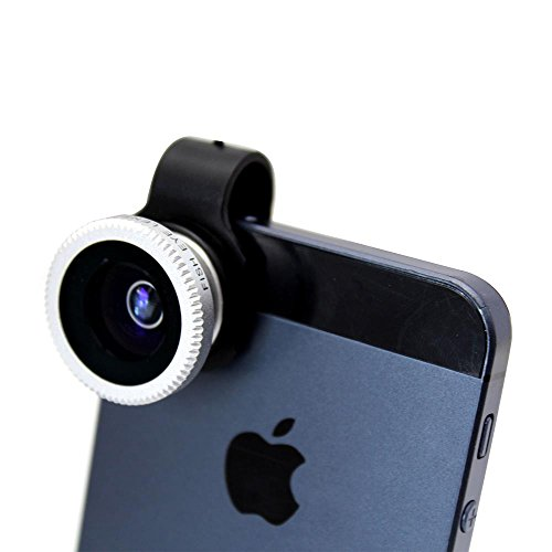 Toch TM Universal Clip-on Fish Eye Lens for iPhone 4/4S/5/5S iPhone 6 iphone 6 plus Samsung Galaxy S2 S3 SIII Note2 Note3 i9300 Smartphones Tablet PC image