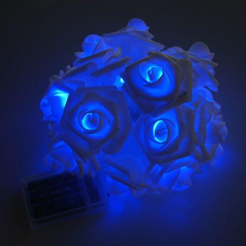 20LED-Rose-Flower-Fairy-Wedding-Garden-Party-Xmas-Decor-Christmas-String-Lights-Blue-no36