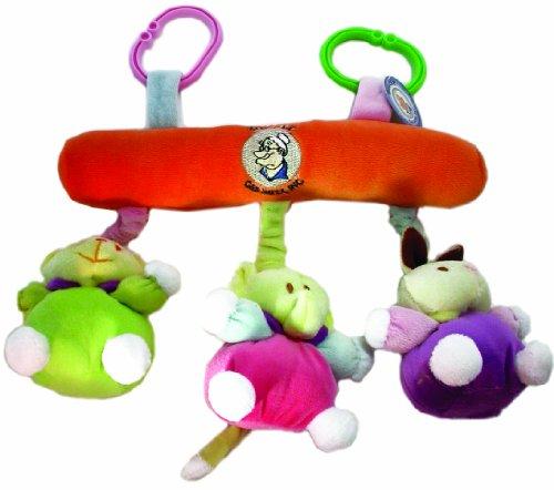 """Bubele 11"""" Crib Hanger Mobil Orange"""