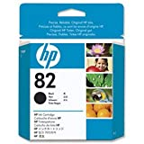 HP 82 - CH565A - print cartridge - 1 x black - for DesignJet 111, 510, 510ps