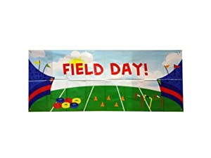 Personalized Field Day Banner - Pack of 72