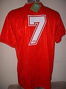 Liverpool KENNY DALGLISH 1986 Retro Adult Large Shirt Jersey Soccer Football BNWT Crown paints Score Draw from Score Draw