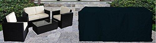 Deluxe Polyester Abdeckhaube Schutzhülle Schutz-Plane für Garten Möbel Loungeset sofa und sessels medium 140cm online kaufen