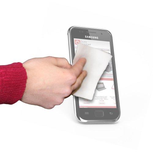 Anti Finger Mark Phone Screen Cleaning Cloths For Samsung Galaxy S4 / S Iv I9500, Galaxy S Ii, Nexus & Note & Lg Optimus 3D By Duragadget