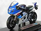 Motorbike bike suzuki gsx r750 scaled 1:18