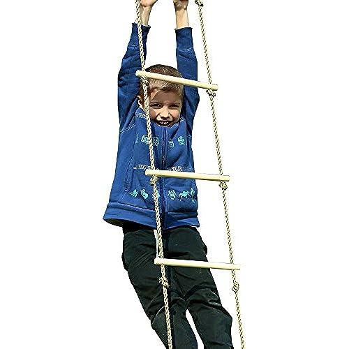 Toyment 목제승 사다리 아웃도어 스포츠 아이,클라이밍 스포츠 연습,실내,아웃도어,정글 짐-