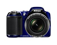 Nikon COOLPIX L810 16.1 MP Digital Camera with 26x Zoom NIKKOR ED Glass Lens and 3-inch LCD by Nikon