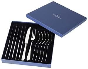 Villeroy boch oscar set posate da carne 12 pezzi for Oscar utensili