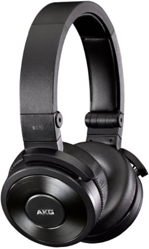 Akg Premium Dj On-Ear Headphones For Apple Iphone 3,4 And 5 With Controls And Microphone