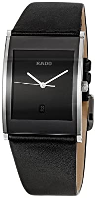 Rado Men's RADO-R20861165 Integral Black Dial Watch