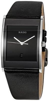 Rado Men's RADO-R20861165 Integral Black Dial Watch by Rado