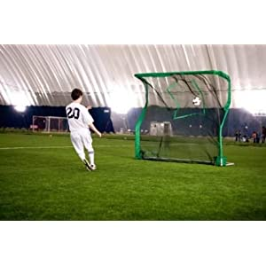 backyard soccer goal net and rebounder sports outdoors