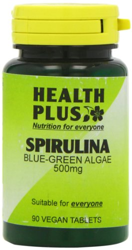 Health Plus Spirulina 500mg Body Shape Plant Supplement - 90 Tablets