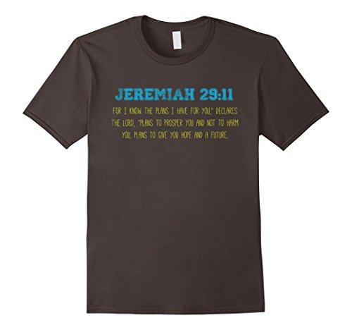 Jeremiah 29:11 Bible Verse Christian T Shirt