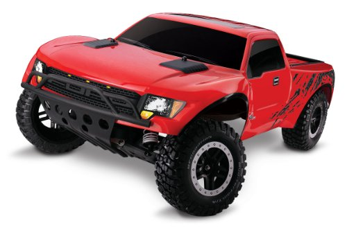 Traxxas 5806 F-150 SVT Raptor Ready-to-Race with 24GHz Radio